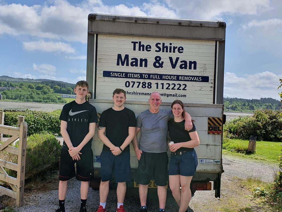 The Shire Man & Van team